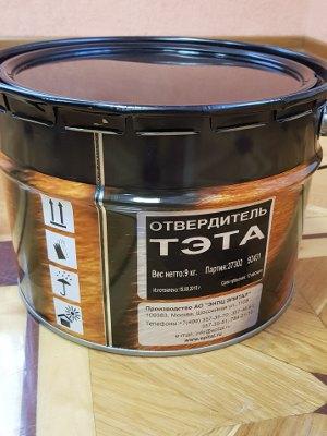 Отвердитель эпоксидных смол тртэтилентетрамин ТЭТА 9 кг от AO ЭНПЦ Эпитал